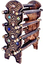 Classic Shoppe Wooden Women Bangle Holder and Jewellery Stand for Home -Brown