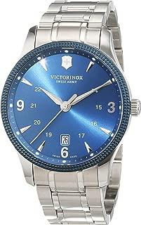 Swiss Army Unisex Reloj de pulsera analógico cuarzo acero inoxidable 241711.1