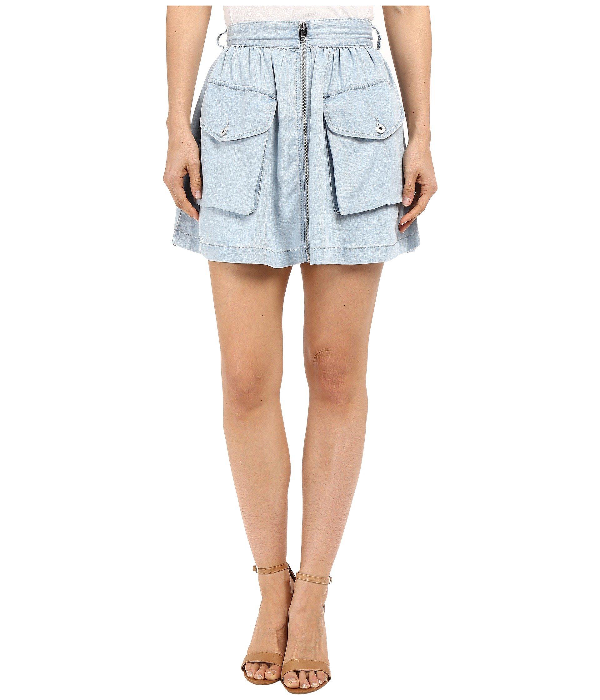 Falda para Mujer Diesel De-Boden-B Skirt  + Diesel en VeoyCompro.net