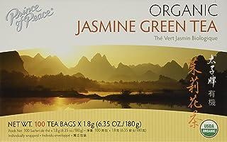 Prince of Peace Organic Green Tea Jasmine, 100 Count