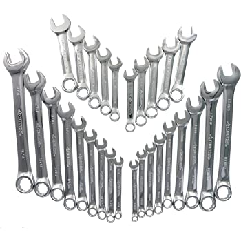Husky 28-Piece Combination Wrench Set SAE And Metric New