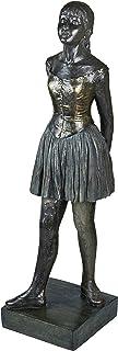 Design Toscano EU28186 Little Dancer, Fourteen Years Old Statue, Giant, bronze