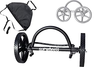 SUP Wheels Evolution   Standup paddle board Carrier   Easy Board Transporter