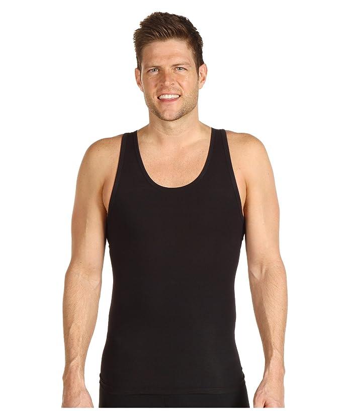 Spanx for Men Cotton Compression Tank (Black) Men