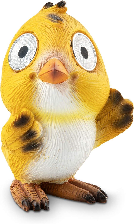 Solar sold out Garden Birdie Decorations Set of Baby Y Outdoor Bird 2 Very popular!