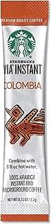 Starbucks SBK11008131 Colombian VIA Ready Instant Single Serving Brew (Pack of 50)
