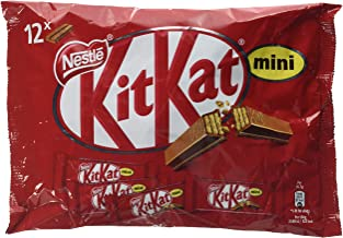 Nestlé KiKat Mini Chocolate con Leche - Barritas de chocolate - Snack de chocolate 200 gr