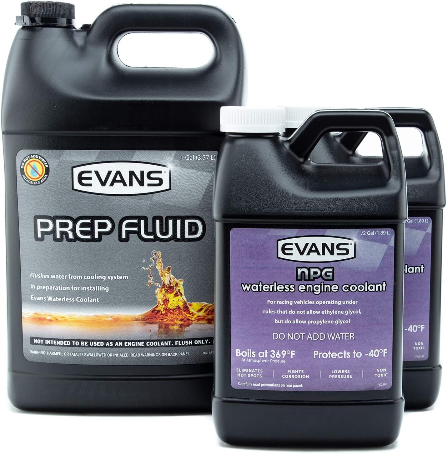 Evans Coolant Indianapolis Mall EC42001 Inventory cleanup selling sale EC10064-2 Prep Fluid Track Sp Race and NPG