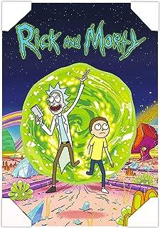 Rick and Morty Poster Wall Art Set -- Mounted Rick and Morty Print (8