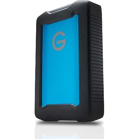 G-Technology ArmorATD Hard Disk Esterno Resistente, Shock-Proof e Water-Resistant, USB-C, Thunderbolt 3, USB 3.0, 2 TB