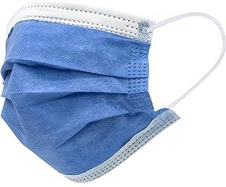 Mascarillas Quirúrgicas Tipo IIR (40 uds.) - Filtración Bidireccional (99,9%) - Fabricado en España - 3 Capas (Azul)