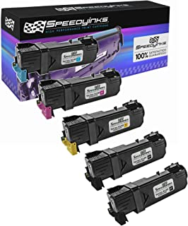 Speedy Inks Compatible Toner Cartridge Replacement for Xerox Phaser 6140 (2 Black, 1 Cyan, 1 Magenta, 1 Yellow, 5-Pack)