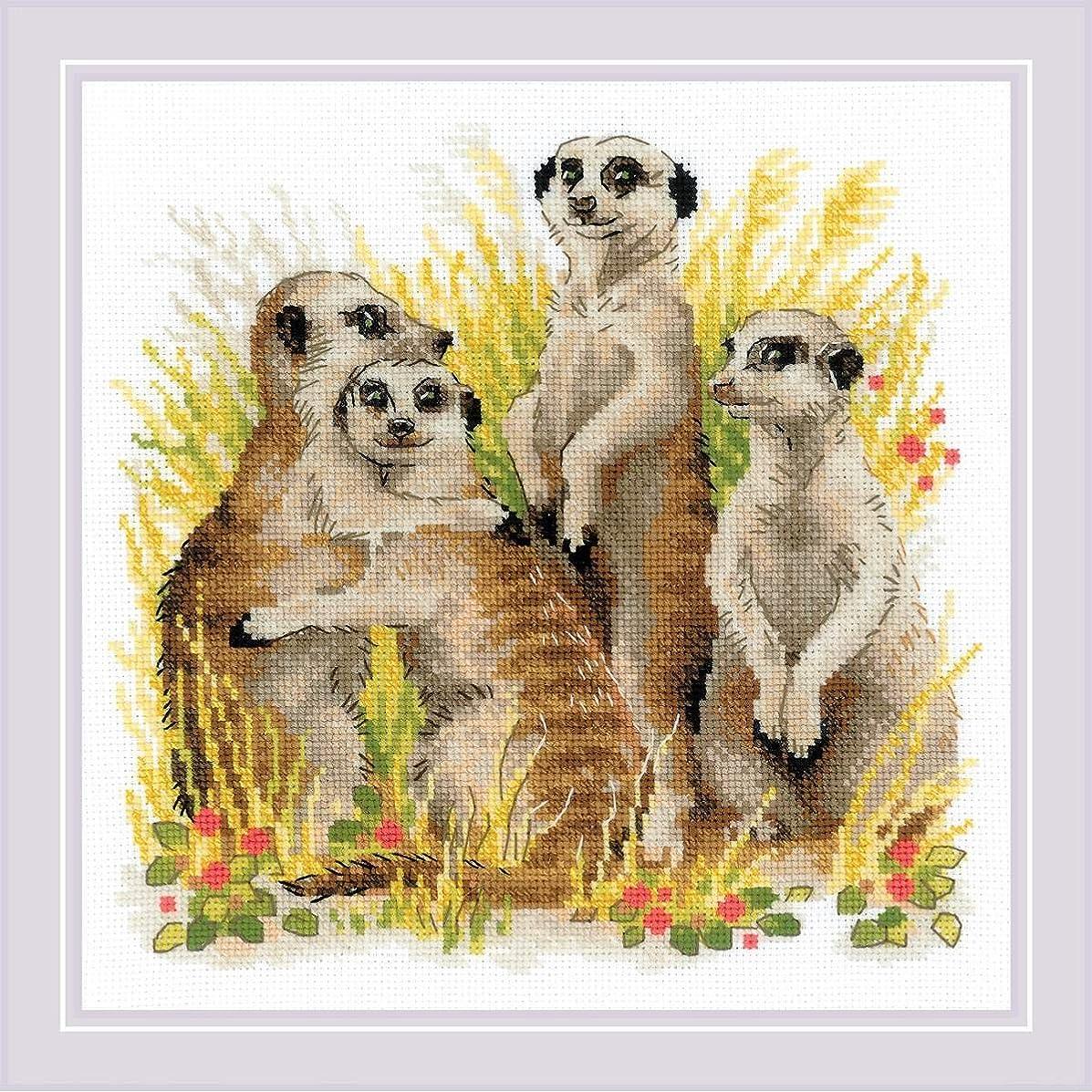 RIOLIS 1761 - Meerkats - Counted Cross Stitch Kit 9?