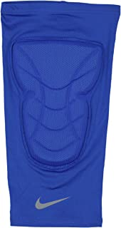 Nike Men's Pro Combat Hyperstrong Padded Basketball Knee Sleeve XX-Large Blue Gray
