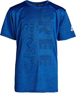 Reebok Boys Performance Quick Dry Athletic Sports T-Shirt