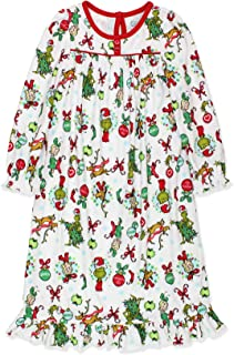 Image of Dr. Seuss The Grinch Christmas Nightgown for Toddler Girls