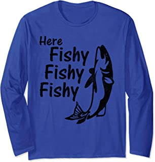 Rod And Reel Spinning Funny Fly Fishing Meme Gift Long Sleeve T-Shirt