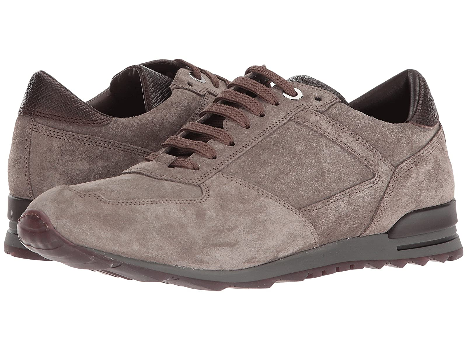 Canali Suede/Leather RunnerAtmospheric grades have affordable shoes