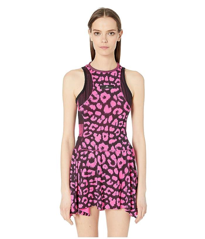 adidas adidas By Stella McCartney Dress (Shock Pink/Black) Women