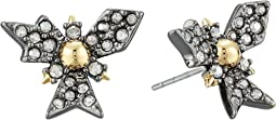 Alexis Bittar - Crystal Encrusted Snowflake Post Earring