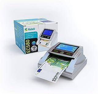 YATEK Detector de Billetes Falsos EC580 con 6 métodos de