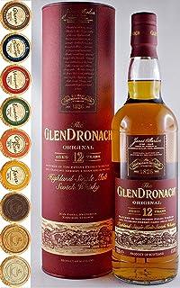 The Glendronach 12 Jahre Single Malt Whisky  9 Edel Schokoladen in 9 Sorten