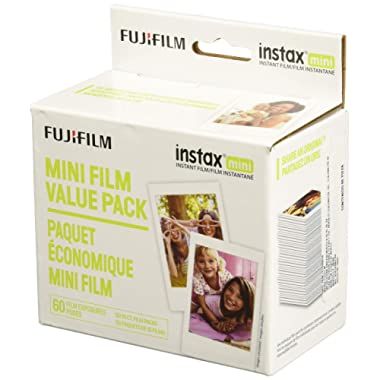 Fujifilm Instax Mini Instant Film Value Pack - 60 Photos