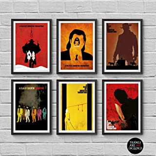 #02 Pulp Fiction Tarantino Movie 36x48 inch More Sizes Poster Canvas Frame