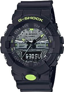 ساعة كاسيو جي شوك رقمية تناظرية للرجال GA-800DC-1ADR