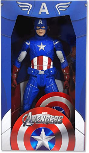NECA Echelle 1 4Marvel Avengers Captain America Figure