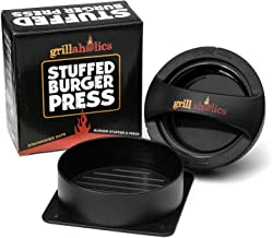 Grillaholics Stuffed Burger Press and Recipe eBook – Extended Warranty –..