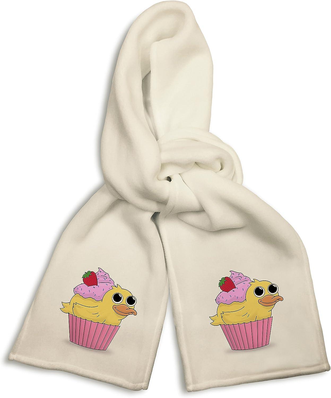 White Winter Scarf - Duck Cupcake Duckcake