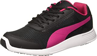 Puma Women's Trenzo Wn S Ii Idp Black-Beetroot P Sneakers