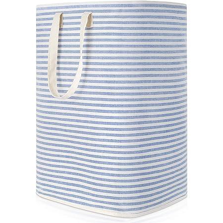 Lifewit 72L Panier à Linge Sale Pliable Imperméable en Tissu avec Une Grande Capacité, Bleu