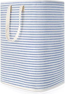 Lifewit 72L Freestanding Laundry Hamper Collapsible Large Clothes Basket with Easy Carry Extended Handles for Clothes Toys, Blue