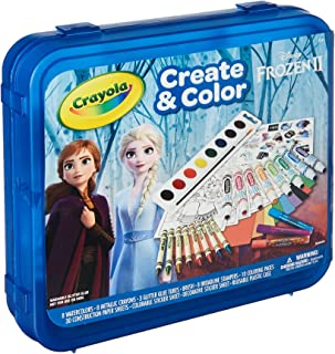 Frozen 2 Art Set, Arts & Crafts, Gift for Kids, Ages 5, 6, 7, 8