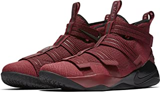 NIKE Mens Lebron Soldier XI SFG Basketball Shoes (12 D(M) US, Team Red/Black-White-Total Crimson)