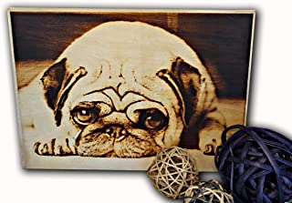 Personalized Picture on Wood, Pyrography picture, Custom Wood Photo, Photo on Wood, Wood Wall Art, Rustic Home Decor, Wood Burned Picture, Customized Wood Print (11