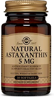 Natural Astaxanthin 5 mg Softgels - 30 Count