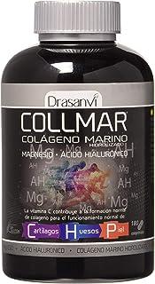Colágeno marino Drasanvi Colmar hidrolizado con magnesio. ácido hialurónico y vitamina C - 180 comprimidos (pack 2 u.)