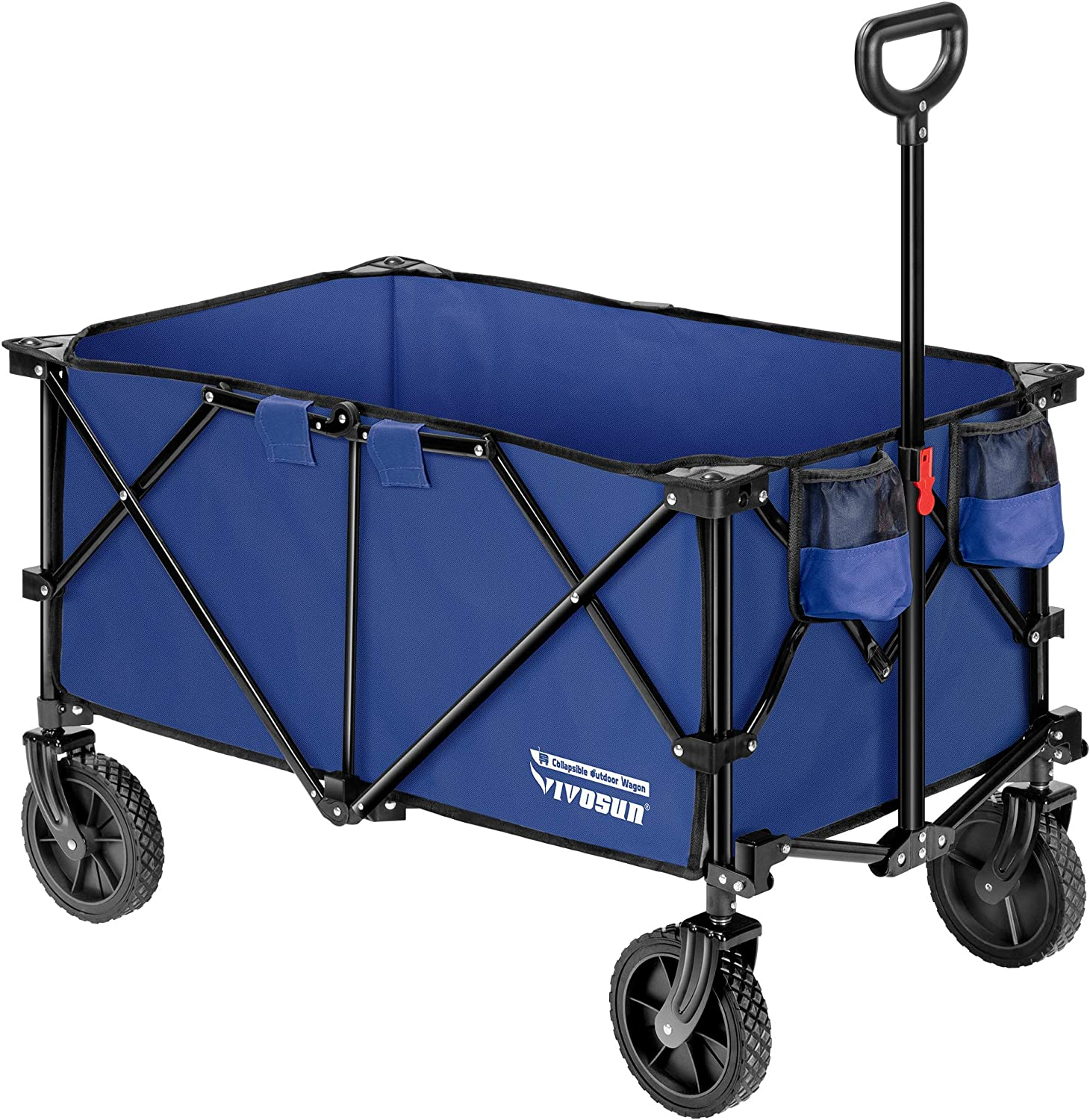 VIVOSUN Heavy Duty Folding Collapsible Cam Limited price Outdoor Wagon Utility Max 82% OFF