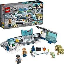 LEGO Jurassic World Dr. Wu's Lab: Baby Dinosaurs Breakout 75939 Fun Dinosaur Toy Building Kit, Featuring Owen Grady, Plus ...