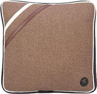 Famus 4 Estilos Masaje eléctrico Almohada Viaje Coche Cuello Posterior Masajeador de Espalda USB(Lino Marron)