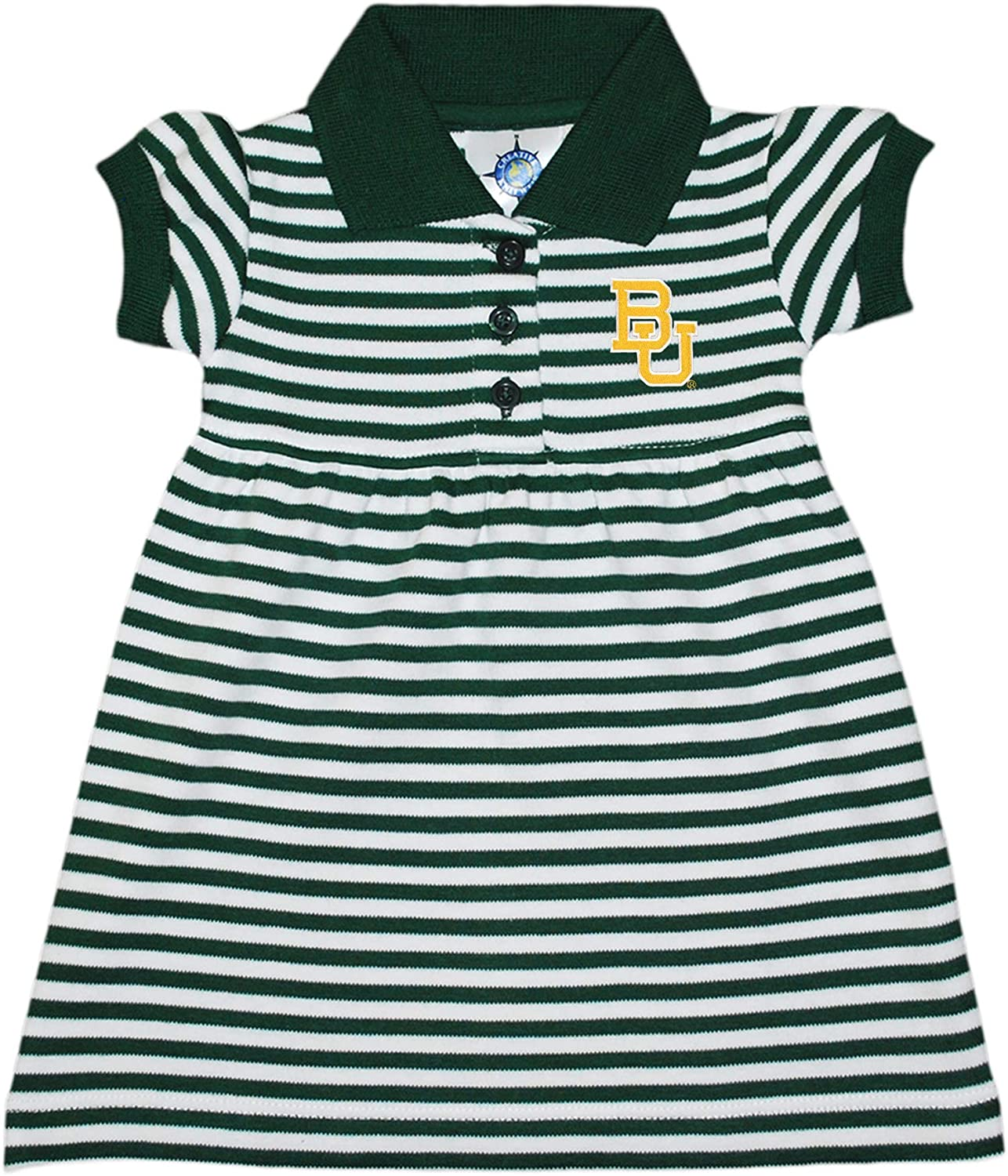 Baylor Challenge the lowest price of Japan University Seasonal Wrap Introduction Bears Striped Game with Day Dress Bloomer