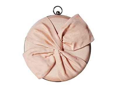 Jessica McClintock Vivianna Circle Clutch (Blush) Clutch Handbags