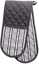 """DII CAMZ38392 Cotton Stripe Quilted Double Oven Mitt, 35 x 7.5"""", Machine Washable and Heat Resistant Kitchen Moppine for E..."""