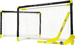 Franklin Sports 4700400  NHL Mini Hockey 2 Goal Set