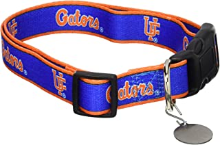 Sporty K9 NCAA Dog Collar. Premium Adjustable Dog Collar - Football/Basketball Collar for Dogs & Cats. - Durable Sports PET Collar - 2 in 24 School Teams - College PET Collar - Collegiate Dog Collar