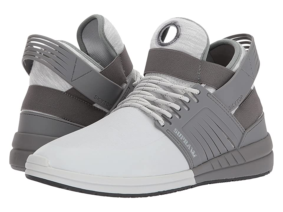 Supra Skytop V (Light Grey/Grey) Men