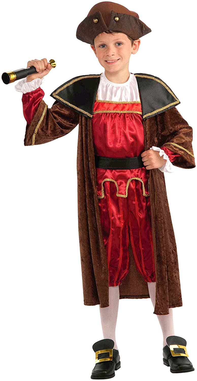 Christopher Columbus explorer costume for kids
